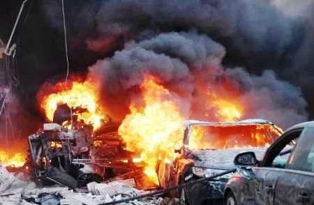 حمله تکفیری ها با خودروهای بمب گذاری شده