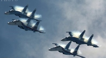 انهدام  یک مرکز فرماندهی داعش توسط جنگنده های روس