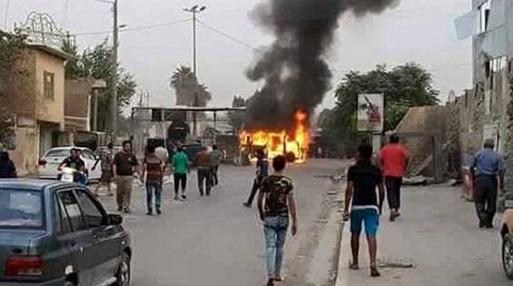 انفجار انتحاری داعش در شهر کاظمین