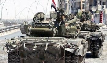 تسلیم 450 فرد مسلح به نیروهای امنیتی سوریه