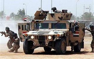 انهدام ادوات بمب گذاری شده داعش در فلوجه
