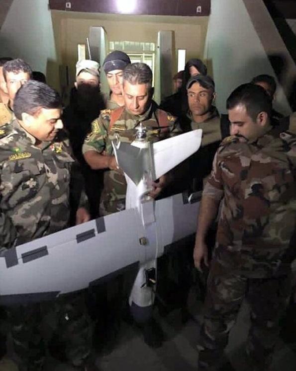پلیس الانبار هواپیمای جاسوسی داعش را ساقط کرد