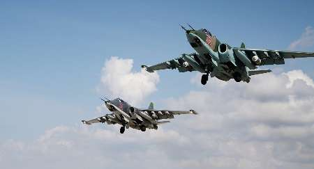 جنگنده های روسیه 40 موضع داعش را منهدم کردند