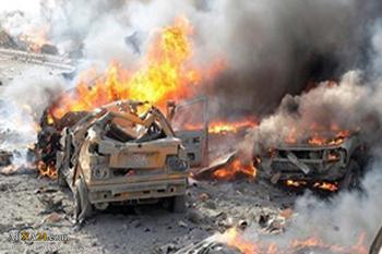 بر اثر انفجار در مسیر کاروان حسینی در عراق
