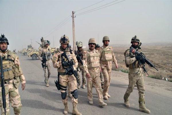 پیشروی ارتش عراق در «الرمادی»