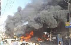 انفجار تانکر بمب گذاری شده داعش در اطراف شهر سامراء