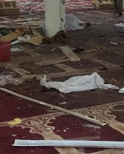 انفجار انتحاری در مسجد شیعیان اسماعیلی عربستان