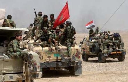 محور غربی شهر الرمادی عراق آزاد شد