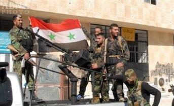 119 تروریست تسلیم ارتش سوریه شدند