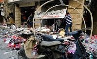 محل انفجارهای تروریستی روز پنج شنبه در بیروت