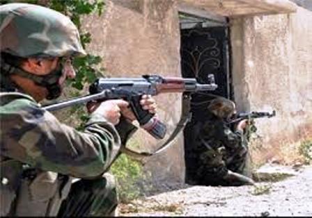 هلاکت فرمانده جنگ داعش در سامرا