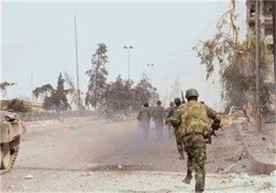 حمله به مواضع داعش در قلمون