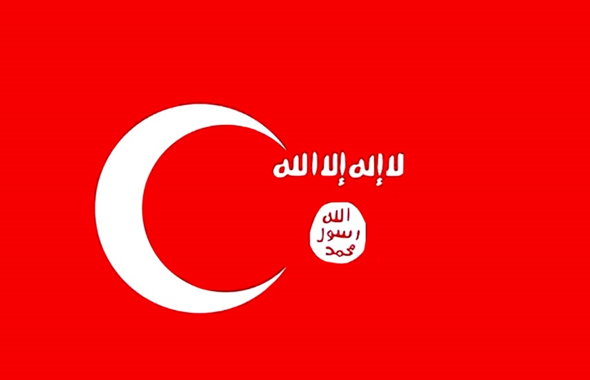 رونمایی از پرچم جدید داعش در شبکههای اجتماعی