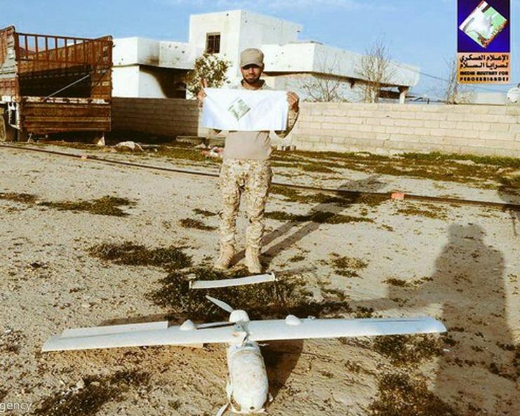 شکار پهپاد داعش به دست نیروهای بسیج مردمی عراق