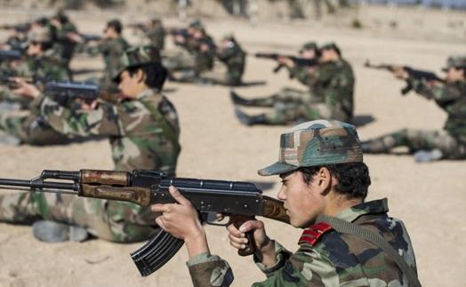 زنان در صفوف ارتش سوریه