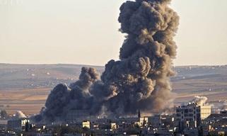 بزرگترین کارگاه ساخت بمب داعش نابود شد