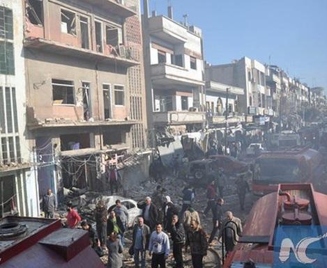 انفجار تروریستی در قامشلی سوریه