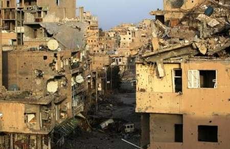حملات شدید هوایی به مواضع داعش در رقه سوریه