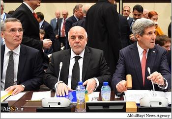شرکت نخست وزیر عراق در نشست کشورهای ائتلاف علیه داعش