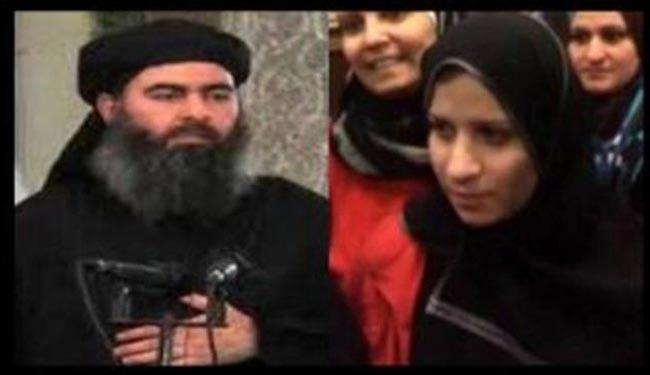 عراق: همسر خلیفه داعش دستگیر نشده است!