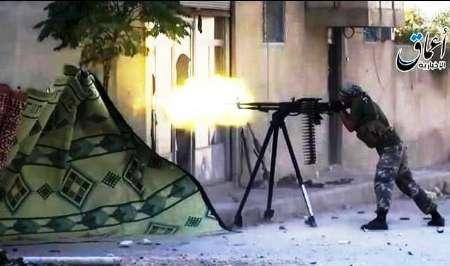 حملات هوایی شدید ارتش سوریه به مواضع داعش