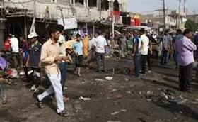 حمله خمپارهای و انفجار در سامراء 65 کشته و زخمی برجای گذاشت