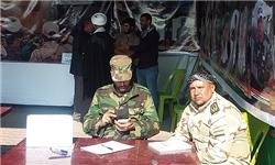عضوگیری از زائران حسینی برای مبارزه با داعش