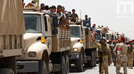 ارتش عراق الرمادی را آزاد کرد