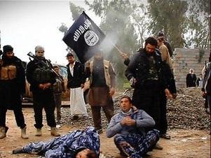 اعدام داعش دو سرباز شیعه در ضلوعیه