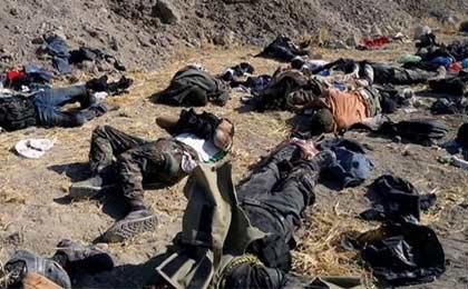 هلاکت 38 تروریست داعشی در شرق الرمادی عراق