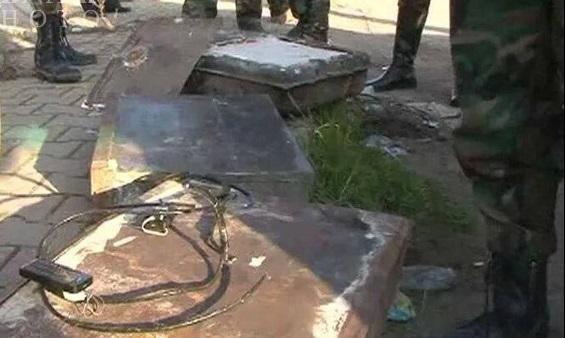 کشف یک خودروی بمب گذاری شده در حمص