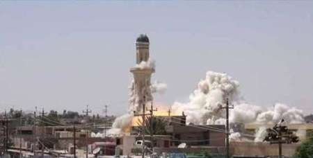 داعش مسجد 177 ساله نینوا را ویران کرد