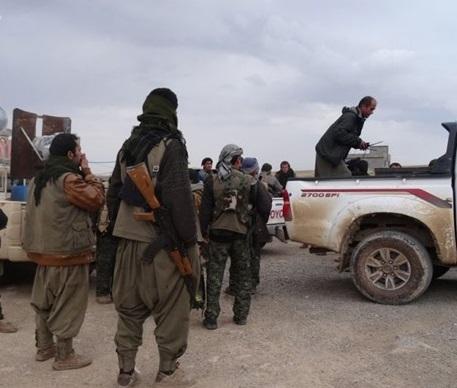 ادامه درگیری کُردها با تروریستهای داعش