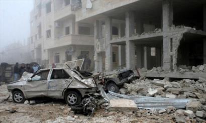 انفجار دو خودرو بمبگذاری شده در حلب