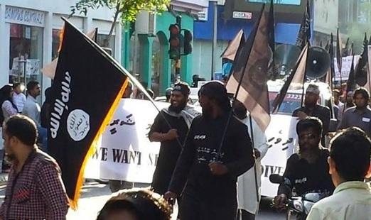 اعلام همبستگی با داعش در «مالدیو»