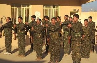 آموزش نظامی به ایزدیها برای جنگ با داعش