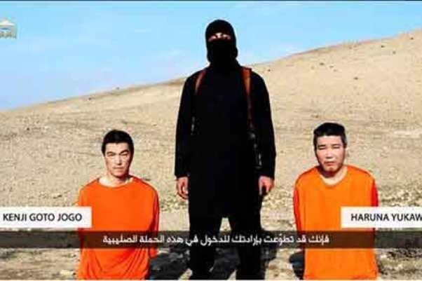 ژاپن به دنبال مذاکره با داعش برای آزادی گروگان ها