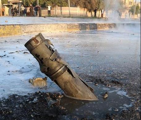 حمله موشکی نیروهای پیشمرگه به شهر موصل