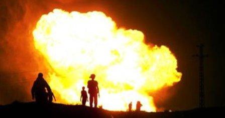 انفجار تروریستی در میدان نفتی خباز
