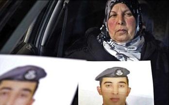 داعش خلبان اردنی را زنده سوزاند