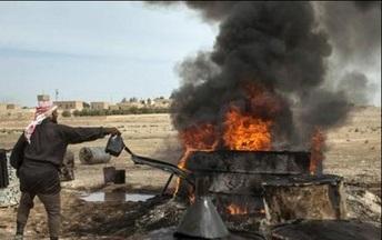 دزدی داعش از چاه های نفت کرکوک