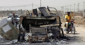 انفجار 2 خودروی بمبگذاری شده