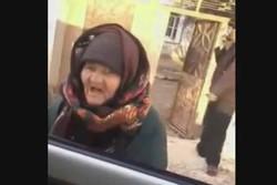 شجاعت پیرزنی سوری مقابل داعشی ها