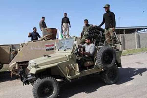 ناحیه «العلم» مملو از اجساد داعش