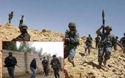 فرار گروهی عناصر داعش از فلوجه