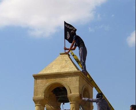 حمله به کلیسای هزار ساله موصل
