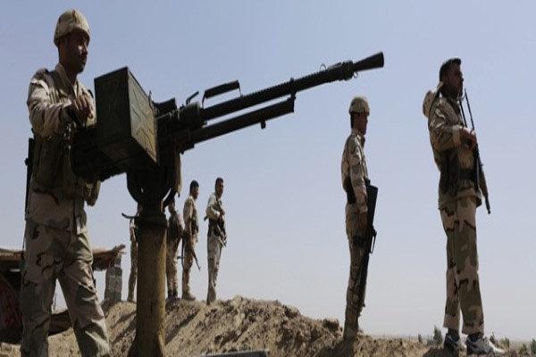 گلوله باران داعش در تکریت