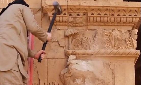 تخریب  شهر باستانی الحضر +تصاویر