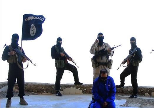 اعدام یکی از نیروهای ویژه عراق