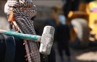 داعش شهرتاریخی نمرود را با خاک یکسان کرد